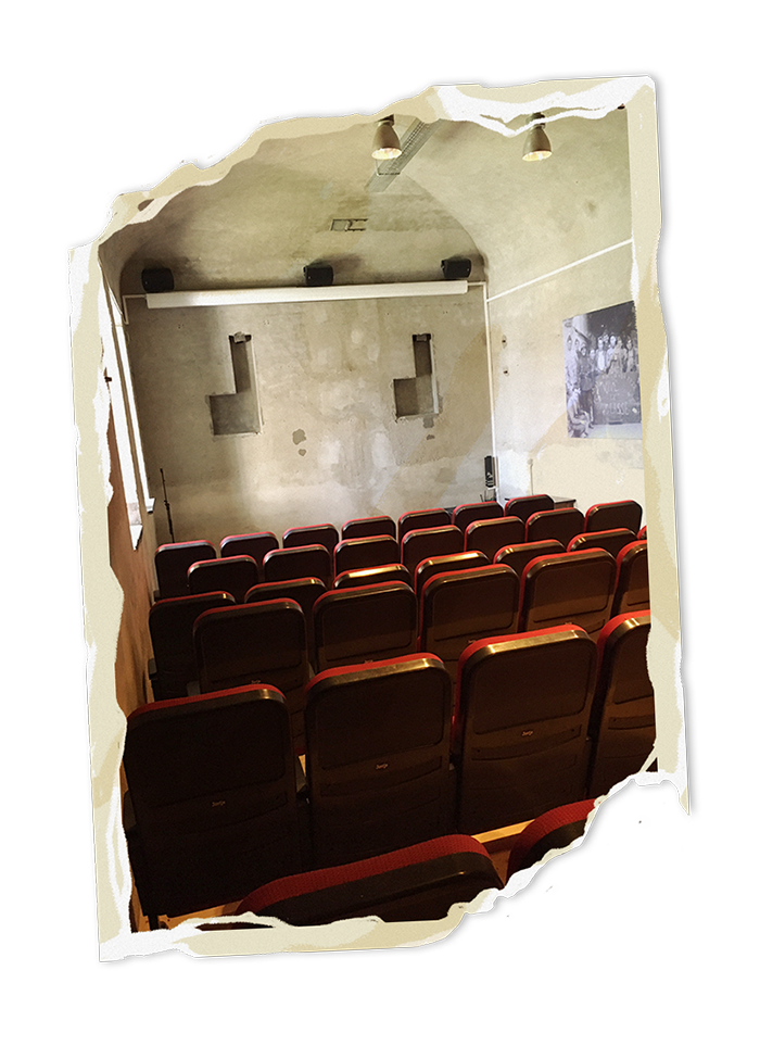 Escape Fort Liezele cinema